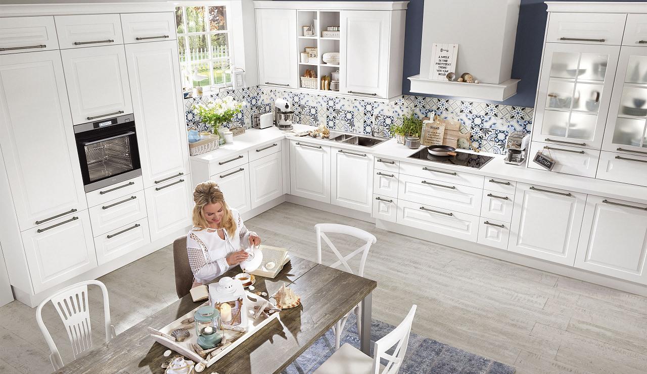 Full Size of Küchen Quelle Kchen Norina Klassische Kche Zeitlos Und Harmonisch Regal Wohnzimmer Küchen Quelle