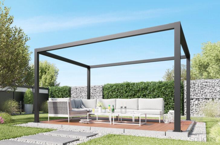 Medium Size of Terrassen Pavillon Alu Lamellendach Fr Solidcube Pergola Solidus Garten Wohnzimmer Terrassen Pavillon