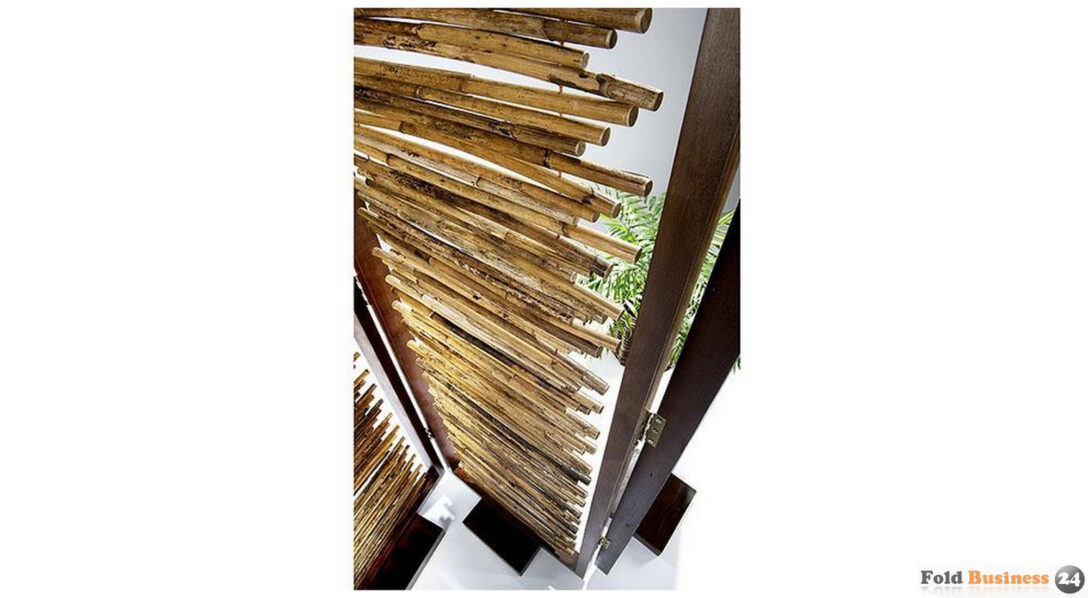 Large Size of Paravent Bambus Raumteiler Sichtschutz 3 Teilig Aus Garten Bett Wohnzimmer Paravent Bambus