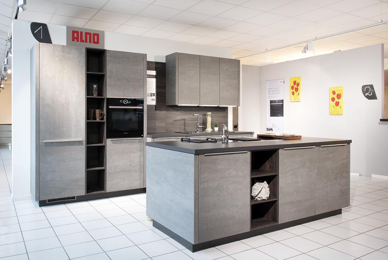 Full Size of Alno Küchen Musterkche Cera Kchenschmiede Trier Gmbh Regal Küche Wohnzimmer Alno Küchen