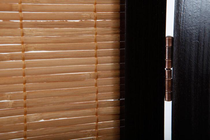 Medium Size of Paravent Aus Bambus Und Holz Im Asiatischen Stil Suwa Miliboo Garten Bett Wohnzimmer Paravent Bambus