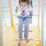 Kidwood Klettergerüst 1 Klettergerst Segel Sport Set Aus Holz Fr Indoor Garten Wohnzimmer Kidwood Klettergerüst