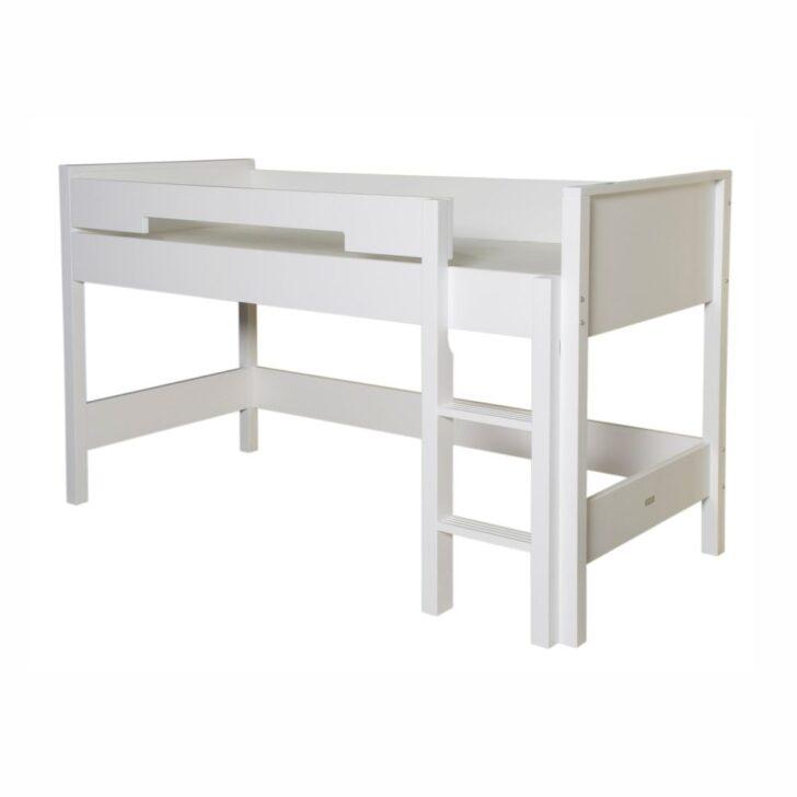 Medium Size of Halbhohes Hochbett Bopita Mimatch Bett Seppe Weiss Bei Rume Wohnzimmer Halbhohes Hochbett