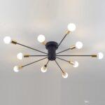 Deckenlampe Schlafzimmer Modern Wohnzimmer Schlafzimmer Lampe Creative Iron Spark Wohnzimmer Kronleuchter Vorhänge Günstige Schimmel Im Landhaus Komplettes Teppich Komplett Günstig Esstische Rauch
