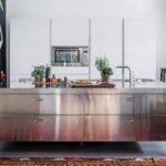 Freistehende Küchen Kchen Edelstahlmbel Edelstahlkchen Küche Regal Wohnzimmer Freistehende Küchen