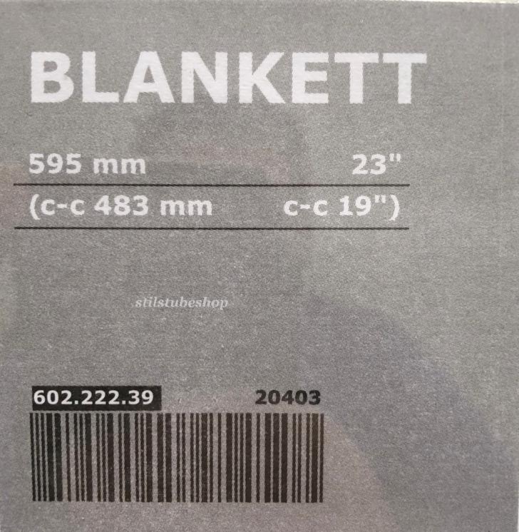 2 Ikea Blankett Mbelgriffe Griff Griffe Alu 595 Mm 60222239 Neu Betten 160x200 Sofa Mit Schlaffunktion Küche Kaufen Miniküche Bei Modulküche Kosten Wohnzimmer Möbelgriffe Ikea