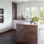Weisse Küche Modern Marmor Wohin Das Auge Blickt Friedrichroda Hängeschrank Höhe Günstig Kaufen Hängeregal Granitplatten Finanzieren Gebrauchte Wohnzimmer Weisse Küche Modern