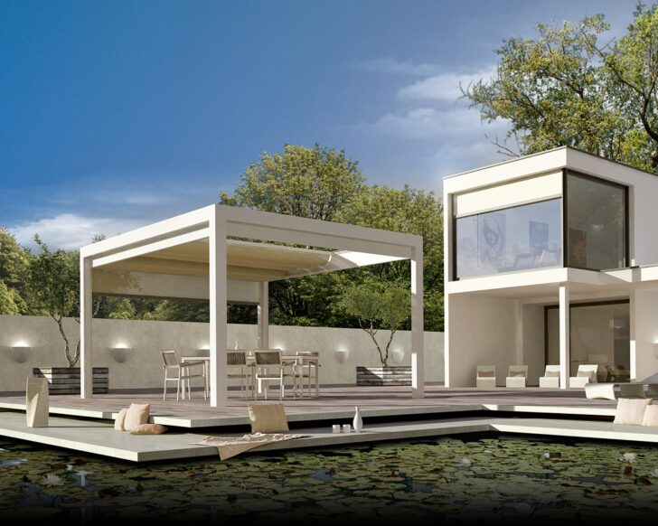 Medium Size of Terrassen Pavillon Melano Tp7100 Garten Wohnzimmer Terrassen Pavillon