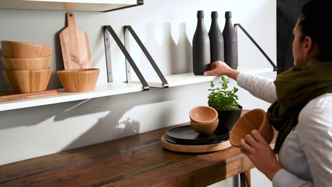 Large Size of Wandregal Board Bermuda Wandboard In Der Kche Youtube Sitzgruppe Küche Einbauküche Gebraucht Ohne Elektrogeräte Apothekerschrank Waschbecken Billig Wohnzimmer Wandboard Küche