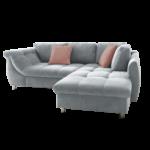Ecksofa Grau Apollo Liegefunktion Gstebett Schlafsofa Zierkissen Bett Ausklappbar Ausklappbares Wohnzimmer Couch Ausklappbar