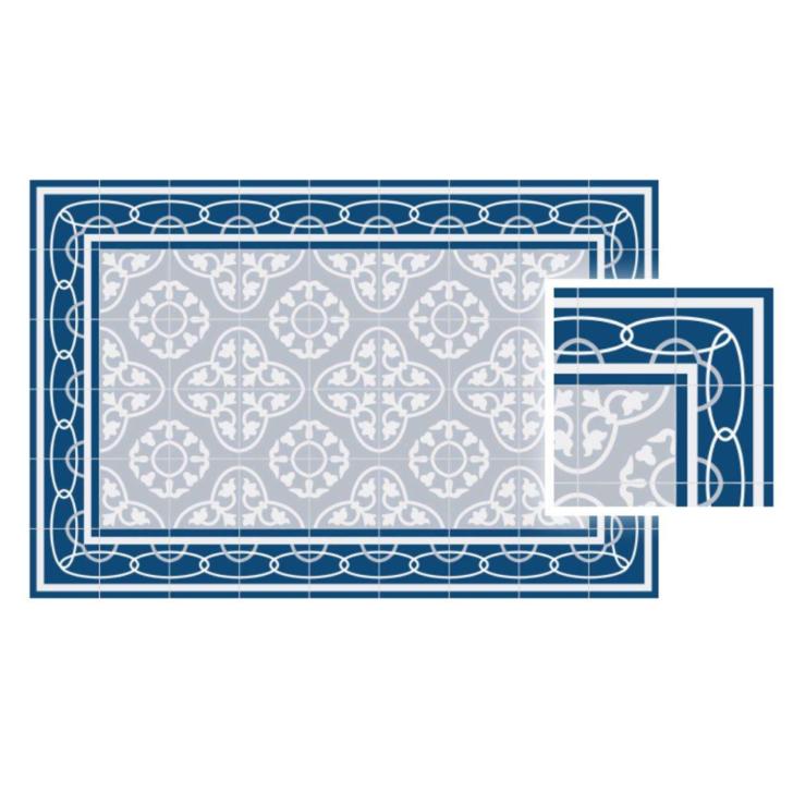 Medium Size of Vinyl Teppich Matteo Fliesen 8 Blau Steinteppich Bad Schlafzimmer Fürs Wohnzimmer Vinylboden Badezimmer Küche Für Im Teppiche Verlegen Esstisch Wohnzimmer Vinyl Teppich