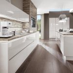 Kchenzeile Kche Hochglanz Wei Norina 9555 Küchen Regal Wohnzimmer Küchen Quelle