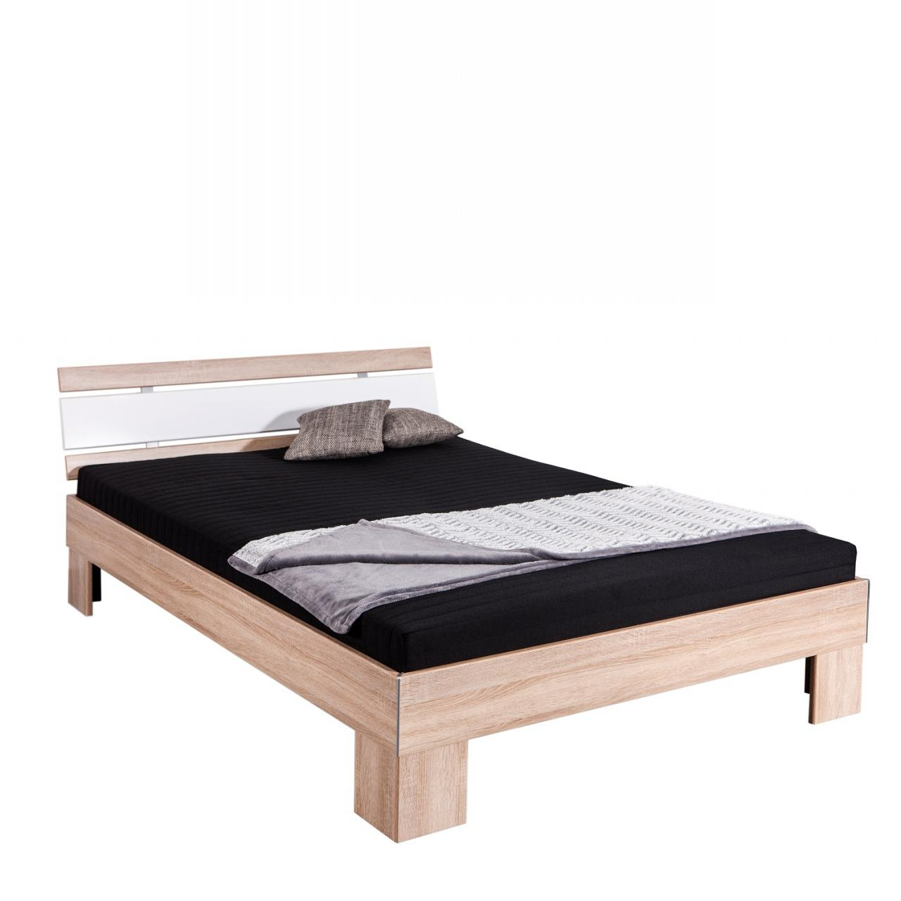 Full Size of Futonbett Set Jasper Eiche Sonoma Nb Wei Hochglanz 140x200 Mit Bett 100x200 Betten Weiß Wohnzimmer Futonbett 100x200