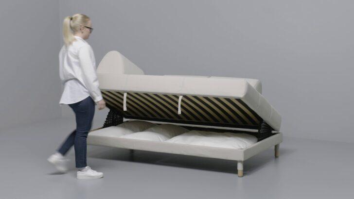 Medium Size of Bett 120x200 Ikea Flottebo 120 Anleitung Vom Sofa Zum Youtube Mit Schubladen 90x200 Weiß Betten Bei 180x200 Günstig Komforthöhe Bambus Hasena Wand 180x220 Wohnzimmer Bett 120x200 Ikea