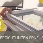 Fensterdichtungen Erneuern Youtube Fenster Kosten Bad Wohnzimmer Fensterfugen Erneuern