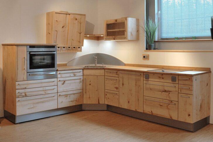 Medium Size of Musterkche Angelbachtal Massivholzkche Classic In Wildahorn Tapete Küche Modern Moderne Deckenleuchte Wohnzimmer Holz Modernes Sofa Duschen Schlafzimmer Wohnzimmer Massivholzküche Modern
