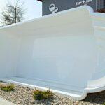 Gebrauchte Gfk Pools Kaufen Pool Venus 00x3 25x1 55m Tv Zubehr Gratis Sale In Wolfsburg Küche Betten Fenster Einbauküche Verkaufen Regale Wohnzimmer Gebrauchte Gfk Pools