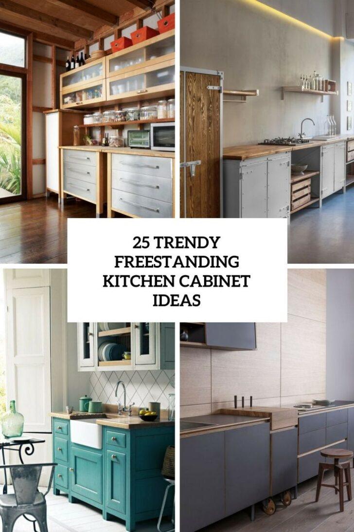 Medium Size of Freistehende Küche Küchen Regal Wohnzimmer Freistehende Küchen