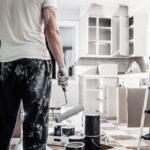 Holzküche Auffrischen Kchenmbel Lackieren Anleitung Von Hornbach Massivholzküche Vollholzküche Wohnzimmer Holzküche Auffrischen