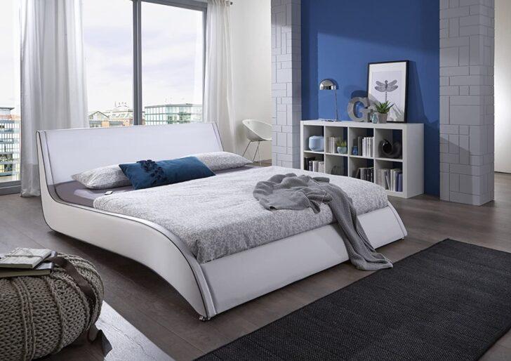 Medium Size of Polsterbett 200x220 Sam Design Cm Suva In Wei Amazonde Kche Betten Bett Wohnzimmer Polsterbett 200x220