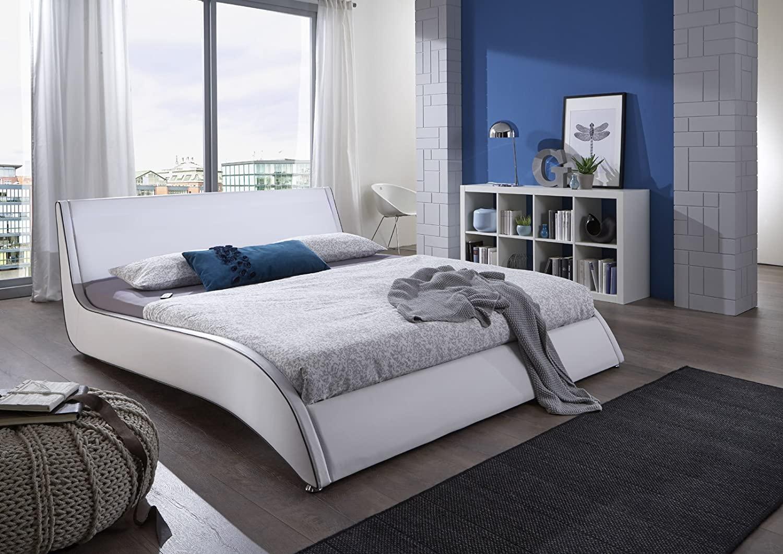 Full Size of Polsterbett 200x220 Sam Design Cm Suva In Wei Amazonde Kche Betten Bett Wohnzimmer Polsterbett 200x220