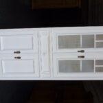 Massive Landhausmbel 5353 Eckschrank Küche Schlafzimmer Set Weiß Hochglanz Offenes Regal Holz Bad Hochschrank Esstisch Oval Weiße Betten Hängeschrank Bett Wohnzimmer Eckschrank Weiß
