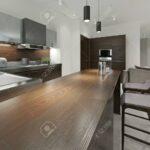 Küchenmöbel Inter Kche Mit Bar Und Barhockern Kchenmbel Holz Wohnzimmer Küchenmöbel
