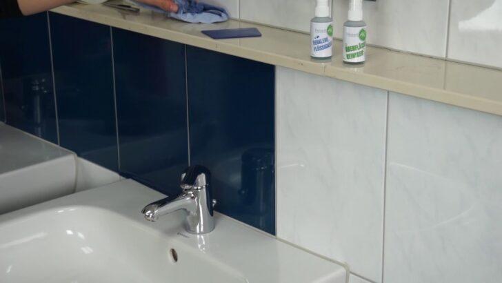 Medium Size of Fliesenspiegel Folie Fliesenfolien Einfache Alternative Mosaikfliesen Fliesenbilder Sonnenschutzfolie Fenster Innen Küche Selber Machen Sicherheitsfolie Test Wohnzimmer Fliesenspiegel Folie