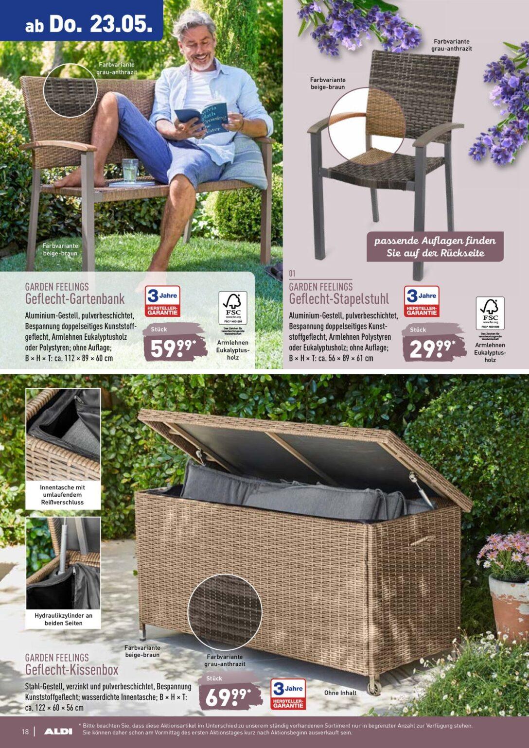 Large Size of Aldi Gartenbank Klappbar 2019 Alu 2020 Geflecht Rattan 2018 Relaxsessel Garten Wohnzimmer Aldi Gartenbank