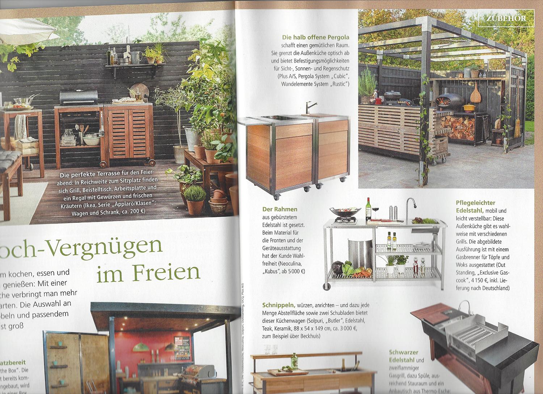 Full Size of Modulküche Edelstahl Neoculina Modulkche In Der Presse Holz Edelstahlküche Gebraucht Garten Ikea Outdoor Küche Wohnzimmer Modulküche Edelstahl