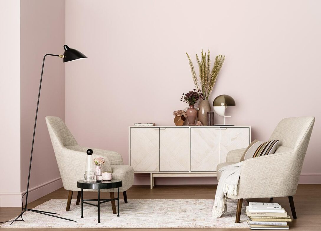 Large Size of Rosa Wandfarbe Bilder Ideen Couch Küche Wohnzimmer Wandfarbe Rosa
