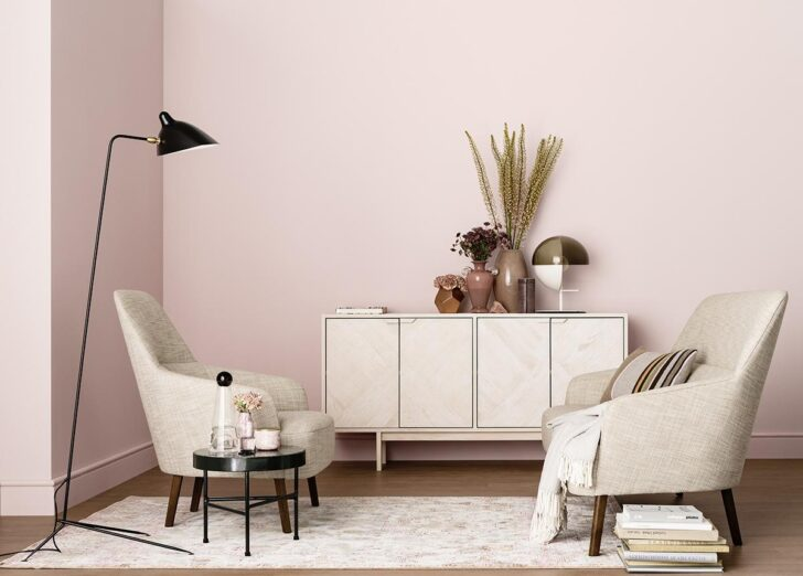 Medium Size of Rosa Wandfarbe Bilder Ideen Couch Küche Wohnzimmer Wandfarbe Rosa
