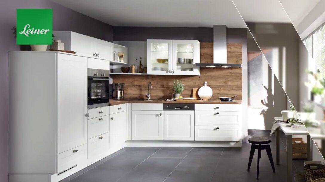 Large Size of Moderne Kchen Kchenmbel Bei Leiner Youtube Wohnzimmer Küchenmöbel