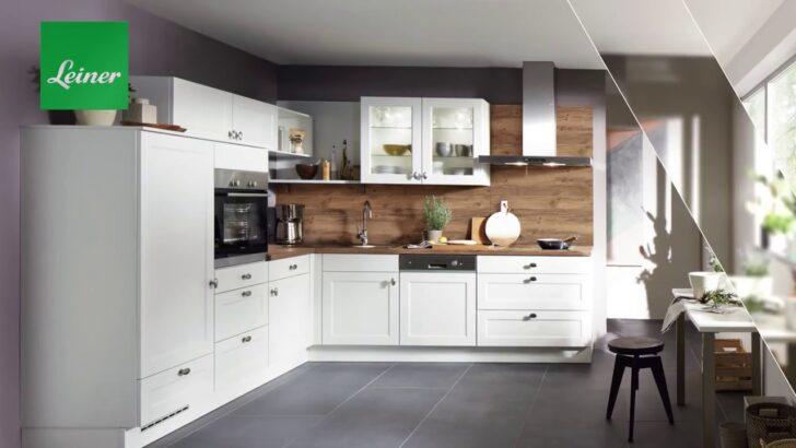 Medium Size of Moderne Kchen Kchenmbel Bei Leiner Youtube Wohnzimmer Küchenmöbel