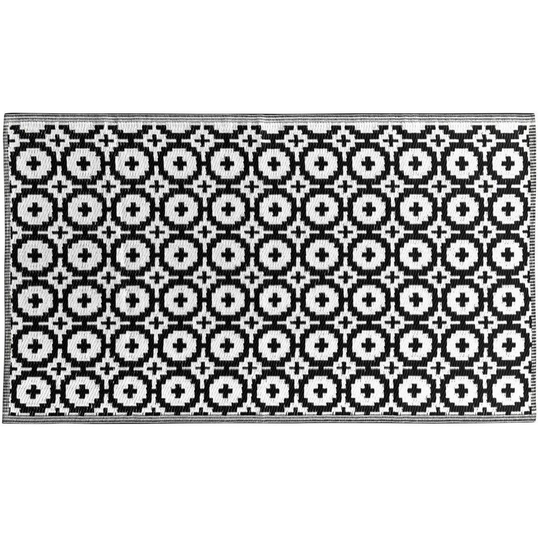 Large Size of Colour Clash Outdoorteppich Mosaik Flachgewebe 150 90 Cm Schwarz Badezimmer Hochschrank Weiß Bett 90x200 Bad Teppich Esstisch Oval Weißes Regal Hochglanz Wohnzimmer Teppich Schwarz Weiß