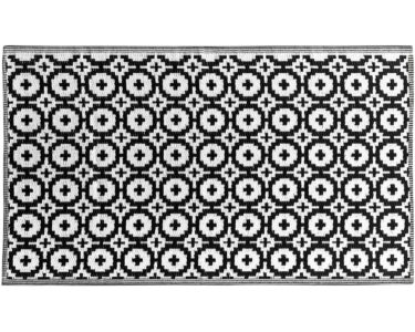 Teppich Schwarz Weiß Wohnzimmer Colour Clash Outdoorteppich Mosaik Flachgewebe 150 90 Cm Schwarz Badezimmer Hochschrank Weiß Bett 90x200 Bad Teppich Esstisch Oval Weißes Regal Hochglanz
