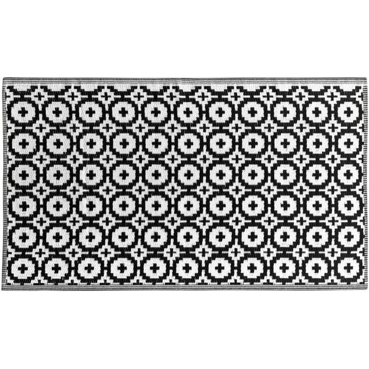 Medium Size of Colour Clash Outdoorteppich Mosaik Flachgewebe 150 90 Cm Schwarz Badezimmer Hochschrank Weiß Bett 90x200 Bad Teppich Esstisch Oval Weißes Regal Hochglanz Wohnzimmer Teppich Schwarz Weiß
