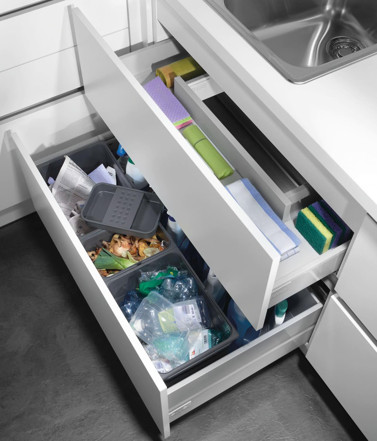 Full Size of Abfallsystem Zubehr Und Ausstattungsdetails Ewe Müllsystem Küche Wohnzimmer Müllsystem