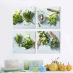 Küchen Glasbilder Glasbild Kche Gro 80 50 40 Xxl Apothekerschrank Bad Regal Küche Wohnzimmer Küchen Glasbilder