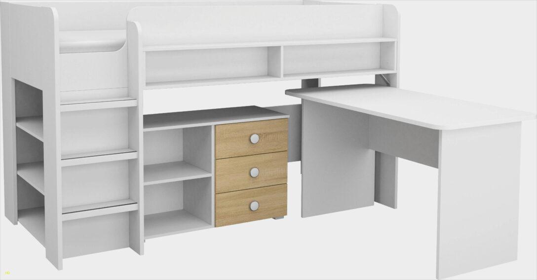 Large Size of Halbhohes Hochbett Bett Mit Schreibtisch Briliant Vk Anleitung Wohnzimmer Halbhohes Hochbett