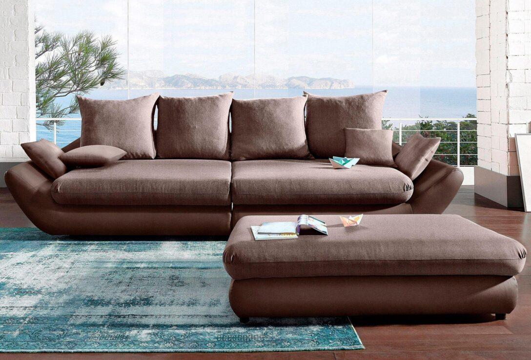 Large Size of Megasofa Aruba Sofa Gigant In Schwarz Mit Strukturstoff Wohnzimmer Megasofa Aruba