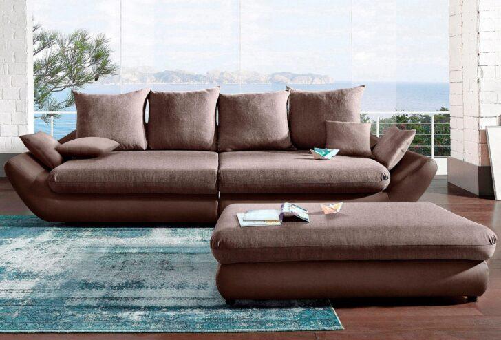 Medium Size of Megasofa Aruba Sofa Gigant In Schwarz Mit Strukturstoff Wohnzimmer Megasofa Aruba