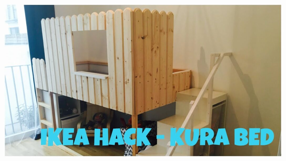 Large Size of Kura Hack Ikea Bed Hochbett Diy Bunk Do It Yourself Youtube Wohnzimmer Kura Hack