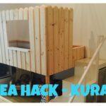 Kura Hack Wohnzimmer Kura Hack Ikea Bed Hochbett Diy Bunk Do It Yourself Youtube