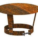 Holzlege Cortenstahl Schornsteinhaube Stahl Rost 150 Mm Kaufen Cafiro Wohnzimmer Holzlege Cortenstahl