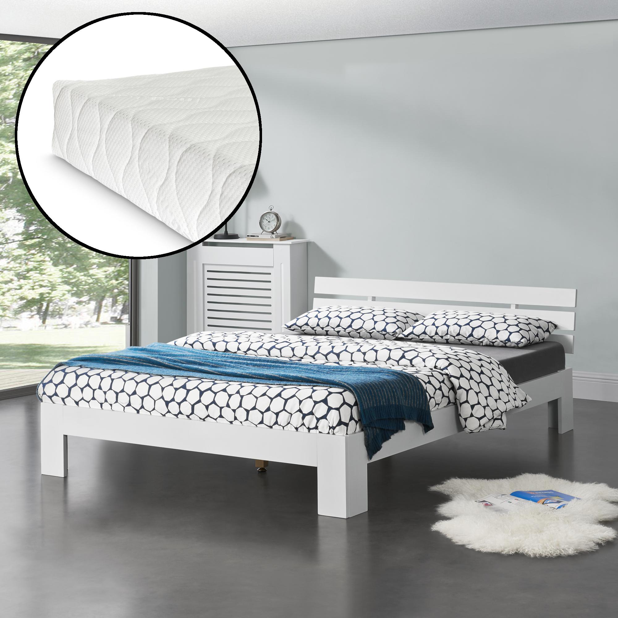 Full Size of Klappbares Doppelbett Encasa Holzbett 140x200cm Mit Matratze Bett Kiefer Ausklappbares Wohnzimmer Klappbares Doppelbett