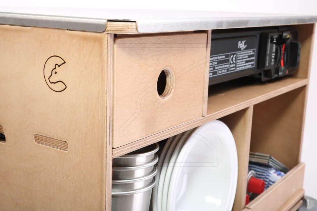Large Size of Mobile Outdoorküche Outdoorkche In Verschiedenen Ausfhrungen Ohne Küche Wohnzimmer Mobile Outdoorküche