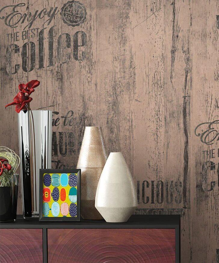 Medium Size of Retro Tapete Küche Papiertapete Braun Caf Aufschrift Alte Werbung Kche Tapeten Für Outdoor Edelstahl Fliesen Günstige Mit E Geräten Hängeschrank Höhe Wohnzimmer Retro Tapete Küche