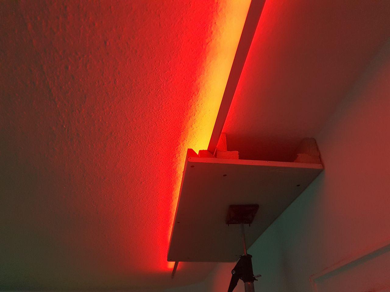 Full Size of Indirekte Beleuchtung Decke Selber Bauen Led Machen Wohnzimmer Bauanleitung Zum Selberbauen 1 2 Docom Kopfteil Bett Boxspring Deckenleuchte Küche Deckenlampen Wohnzimmer Indirekte Beleuchtung Decke Selber Bauen