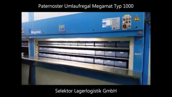 Medium Size of Paternoster Regal Gebraucht Megamat 1046 406 18 Selektor Lagerlogistik Gmbh Grau Kiefer Massivholz Leiter Aus Obstkisten Würfel Weiße Regale Küchen Wand Wohnzimmer Paternoster Regal Gebraucht